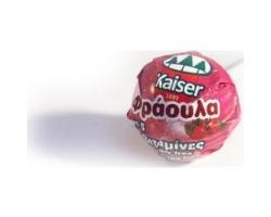 KAISER Γλυφιτζούρι για παιδιά χωρίς ζάχαρη με γεύση φράουλα και 5 βιταμίνες 1 τεμάχιο