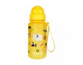 Littlelife Παγούρι Με Καλαμάκι Χρώμα Κίτρινο, 400ml
