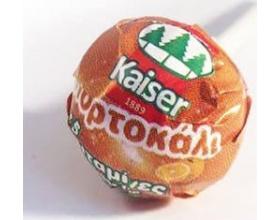KAISER Γλυφιτζούρι για παιδιά χωρίς ζάχαρη με γεύση πορτοκάλι και 5 βιταμίνες 1 τεμάχιο
