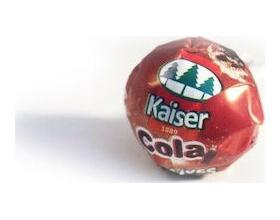 KAISER Γλυφιτζούρι για παιδιά χωρίς ζάχαρη με γεύση cola και 5 βιταμίνες 1 τεμάχιο