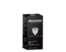 SJA Pharm Delousil Moisturizing Face Cream for Men Ενυδατική Κρέμα Προσώπου για Άνδρες, με  Υαλουρονικό Οξύ, Αλόη και φυσικά εκχυλίσματα Χαμομηλιού 50ml