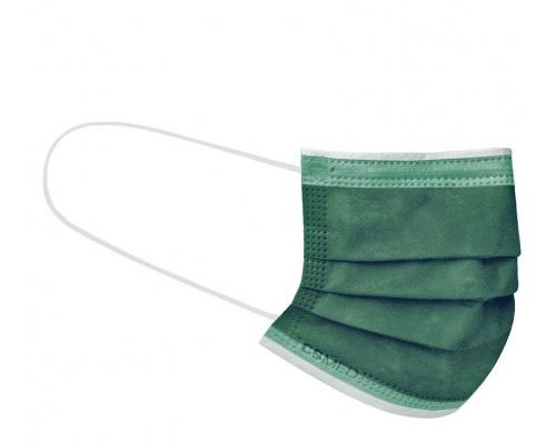 Siamidis CSMED Ιατρική Μάσκα Τύπου ΙIR , Χρώμα Forest Green 1 TMX