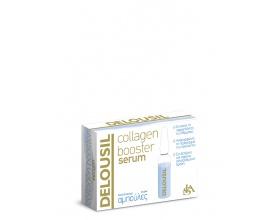 SJA Pharm Delousil Collagen Booster Serum Αμπούλες , Εντατικός Ενυδατικός Ορός Περιποίησης με Καθαρό Κολλαγόνο.  2ml