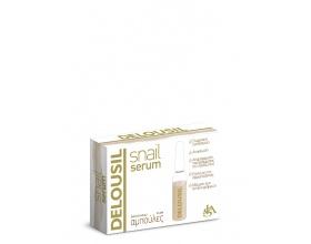 SJA Pharm Delousil Snail Serum συμπυκνωμένος ορός επανόρθωσης και ανανέωσης με έκκριμα σαλιγκαριού 2ml