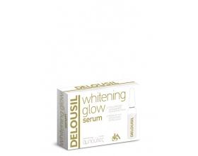 SJA Pharm Delousil Whitening Glow ορός είναι συμπυκνωμένος και πλούσιος σε δραστικά συστατικά που βοηθούν στον περιορισμό των δυσχρωμιών 2ml