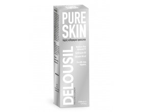 SJA Pharm Delousil PureSkin Foam Αφρός Καθαρισμού Προσώπου, Για κάθε τύπο δέρµατος 200ml