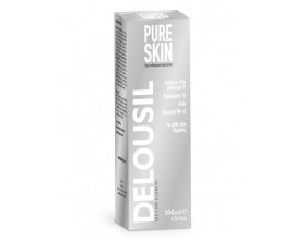 SJA Pharm Delousil PureSkin Liquid Υγρό καθαρισµού προσώπου Για κάθε τύπο δέρµατος 200ml