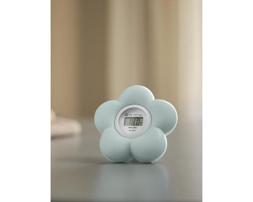 PHILIPS AVENT Θερμόμετρο SCH480/20, Ψηφιακό θερμόμετρο μπάνιου και δωματίου 1 τεμάχιο