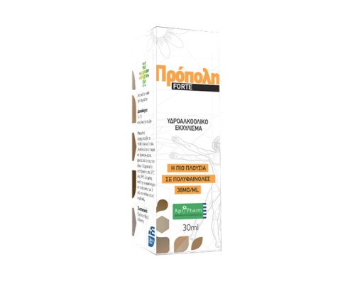 Apipharm Propolis Forte Υδροαλκοολικό εχκύλισμα πρόπολης 30 ml