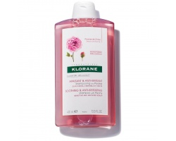 KLORANE Shampoo Pivoine Σαμπουάν με εκχύλισμα Παιωνίας Καταπράυνση και αίσθηση άνεσης, για ευαίσθητο - ερεθισμένο τριχωτό της κεφαλής 400ml