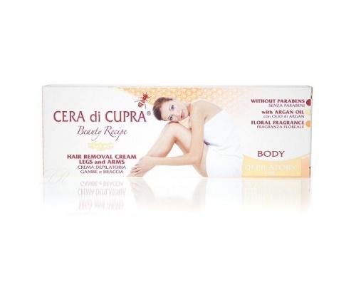 Cera Di Cupra Hair Removal Cream for Feet and Hands, Κρέμα Αποτρίχωσης για Χέρια και Πόδια 100ml