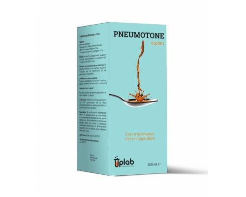 Uplab Pneumotone syrup περιέχει έμβρεγμα αλθαίας και εκχύλισμα άνθους χαμομηλιού για τον ξηρό & επίμονο βήχα 200ml