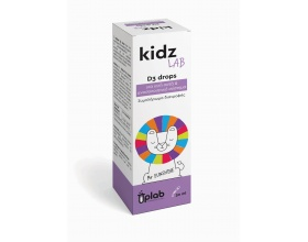 Uplab KidzLab D3 Συμπλήρωμα διατροφής βιταμίνης D3 (χοληκαλσιφερόλης) σε σταγόνες, για την κάλυψη των αυξημένων απαιτήσεων του οργανισμού σε βιταμίνη 30ml