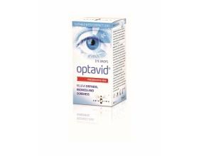 Optavid eyes drops οφθαλμικές σταγόνες έχουν ευεργετική επίδραση στα μάτια 10ml