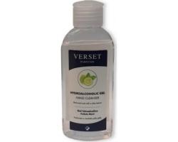 VERSET Parfums Hand Cleanser Αντισηπτικό gel χεριών 70% v/v με άρωμα 100ml
