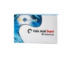 VIOGENESIS Folic Acid 600 μg Συμπλήρωμα διατροφής Φυλλικό οξύ 90 tabs