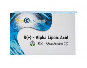 VIOGENESIS  R(+) – Alpha Lipoic Acid Συμπλήρωμα που βοηθάει στην εξισορρόπηση των επιπέδων σακχάρου στο αίµα, 60 caps