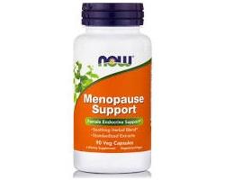 Now Foods Menopause Support, Συμπλήρωμα Διατροφής που στηρίζει τα φυσιολογικά επίπεδα ορμονών κατά τη διάρκεια της εμμηνόπαυσης, 90 κάψουλες