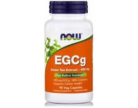 Now Foods EGCg Green Tea Extract Συμπλήρωμα Διατροφής με Πράσινο Τσάι και Αντιοξειδωτική Δράση, 400mg 90 χορτοφαγικές κάψουλες