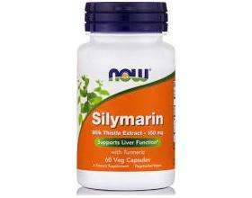 Now Foods Milk Thistle - Silymarin 150mg, Συμπλήρωμα Διατροφής με σύμπλεγμα αντιοξειδωτικών για την προστασία των κυττάρων και την καλή λειτουργία του ήπατος, 60 κάψουλες