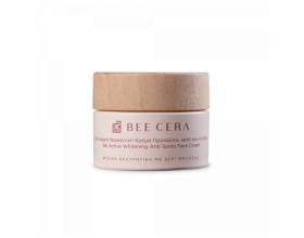 Bee Cera Βίο Ενεργή Λευκαντική Κρέμα Προσώπου κατά των Κηλίδων, 50ml