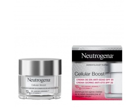 Neutrogena Cellular Boost De-Aging Day Care Αντιγηραντική Κρέμα Ημέρας Προσώπου με SPF20, 50ml