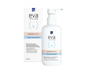 INTERMED Eva Intima Wash Herbosept Minor Discomfort Υγρό Καθημερινού Καθαρισμού με Φυτικά Εκχυλίσματα με Φυσική Αντιμικροβιακή Δράση, 250ml