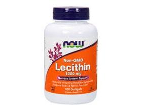Now Foods Lecithin 1200mg, Συμπλήρωμα Διατροφής που βοηθά στην κάυση του λίπους, 100 μαλακές κάψουλες