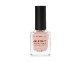 Korres Gel Effect Nail Colour No.4 Peony Pink Βερνίκι Νυχιών, 11ml