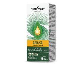 Superfoods Anasa Φυτικό Σιρόπι Κατά του Ξηρού & Παραγωγικού Βήχα, 120ml