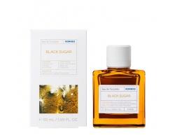 Korres Eau de Toilette Black Sugar, Oriental Lily & Violet Γυναικείο Άρωμα, Ισορροπημένη Γλυκύτητα με Oriental Στοιχεία, 50 ml