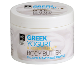 Bodyfarm Body Butter με Γιαούρτι & Βασιλικό πολτό, 200ml