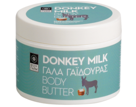 Bodyfarm Body Butter απο Γαλα γαιδουρας, 200ml