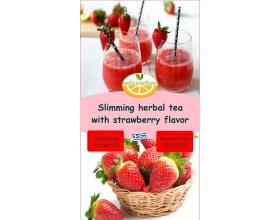 Melissovotano Βότανα για Αδυνάτισμα και Λιποδιάλυση με Φράουλα, 75gr