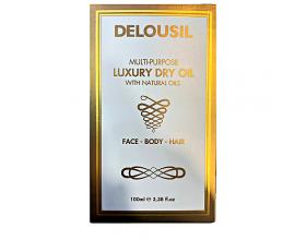 SJA Pharm Delousil Multi-Purpose Luxury Dry Oil Ξηρό Λάδι για Πρόσωπο Σώμα και Μαλλιά, 100ml