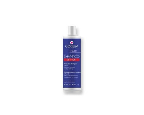 Corium Shampoo Ds Soft Εξισορροπιστικό Σαμπουάν, 250ml