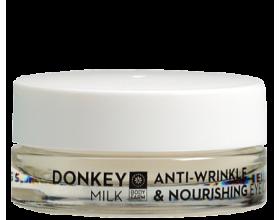 Bodyfarm Αντιρυτιδική και Θρεπτική Κρέμα Ματιών Γάλα Γαιδούρας, 50ml