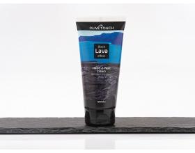 Propharm Olive Touch Black Lava Effect Κρέμα Χεριών με Ηφαιστειακή Λάβα, 100ml