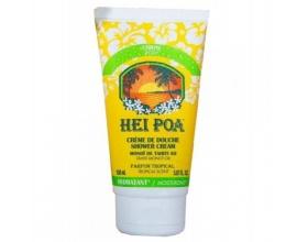 Hei Poa Shower Cream Monoi Tiare Κρεμώδες Αφρόλουτρο με Άρωμα απο Άνθη Tiare, 150ml