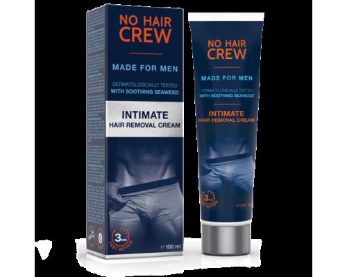 More Sept No Hair Crew Intimate Hair Removal Cream Κρέμα αποτρίχωσης για τα ευαίσθητα σημεία, 100ml
