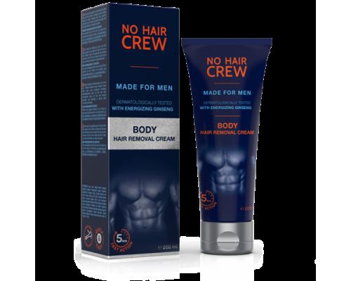 More Sept No Hair Crew Body Hair Removal Cream Κρέμα αποτρίχωσης σώματος, 200ml