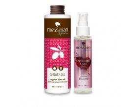 Messinian Spa Dry Oil Ρόδι-Μέλι 100ml & Δώρο Shower Gel Ρόδι-Μέλι 300ml