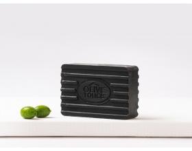 Propharm Olive Touch Black Lava Effect Χειροποίητο Σαπούνι με Ηφαιστειακή Λάβα, 100gr