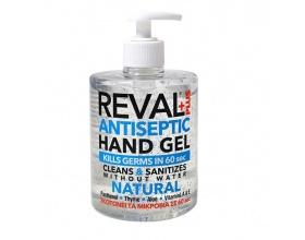Intermed Reval Plus Hand Gel Natural Αντισηπτικό Χεριών 500ml