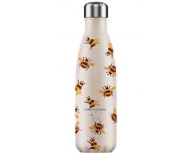 Chilly's Bottles, Special Edition, Μπουκάλι Νερού-Θερμός από Ανοξείδωτο Ατσάλι, Bumblebee, 500ml.