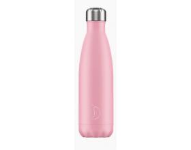 Chilly's Bottles, Μπουκάλι Νερού-Θερμός από Ανοξείδωτο Ατσάλι, Pastel Pink, 500ml.