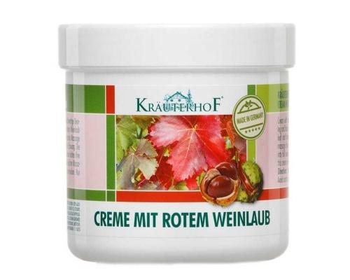 Krauterhof Κρέμα με Αγριοκάστανο & Κόκκινα Αμπελόφυλλα, 250ml