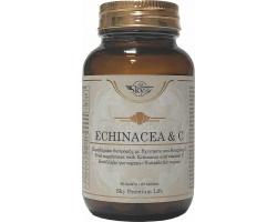 Sky Premium Life Echinacea & Vitamin C 500mg για Τόνωση & Ενέργεια του Οργανισμού, 60tabs