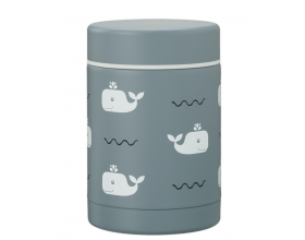 Fresk, Θερμός Φαγητού από Ανοξείδωτο Ατσάλι, FD100-26, Whale, 300ml.