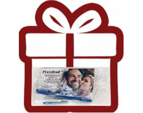 Gift Fixodent κόλλα+οδοντόβουρτσα